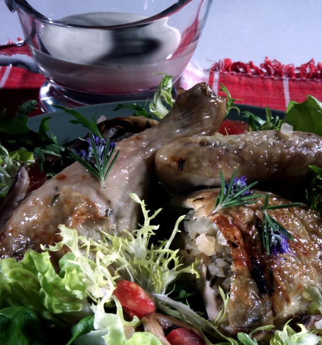 Le Dome Vertical Chicken Salad