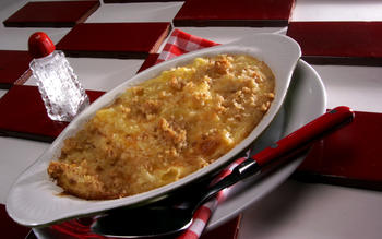 Diner-style macaroni and cheese