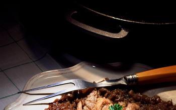 Pot Roast With Onion Marmalade