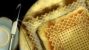 Topik (layered garbanzo bean pate )