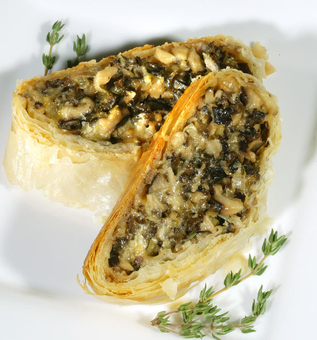 Recipe: Wild mushroom strudel - California Cookbook