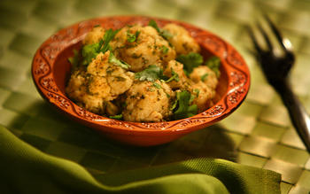 Golden cauliflower