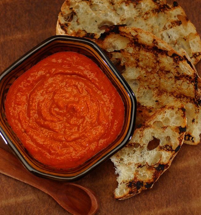 Smoked paprika romesco sauce