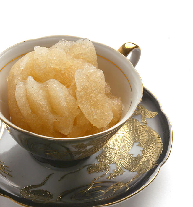 Lapsang souchong ice
