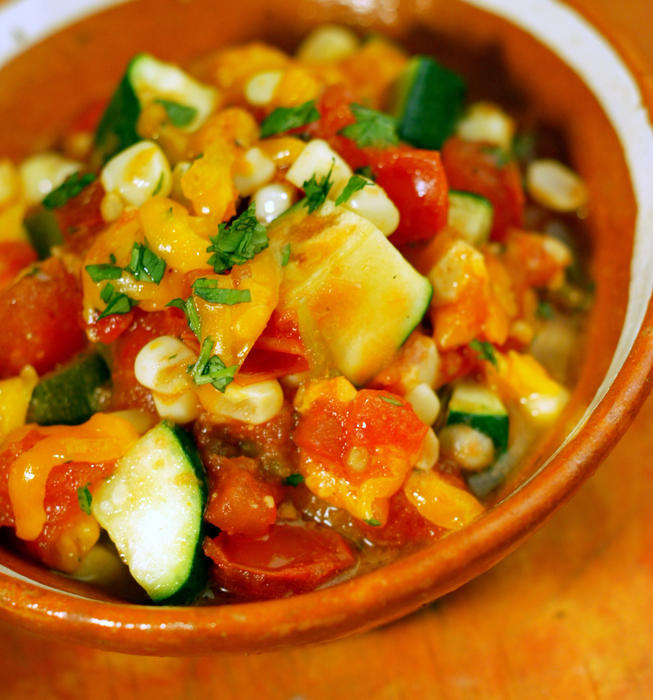 Recipe Calabacitas California Cookbook