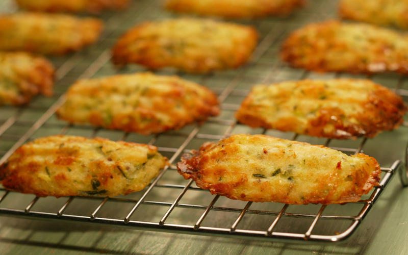 Zucchini madeleines