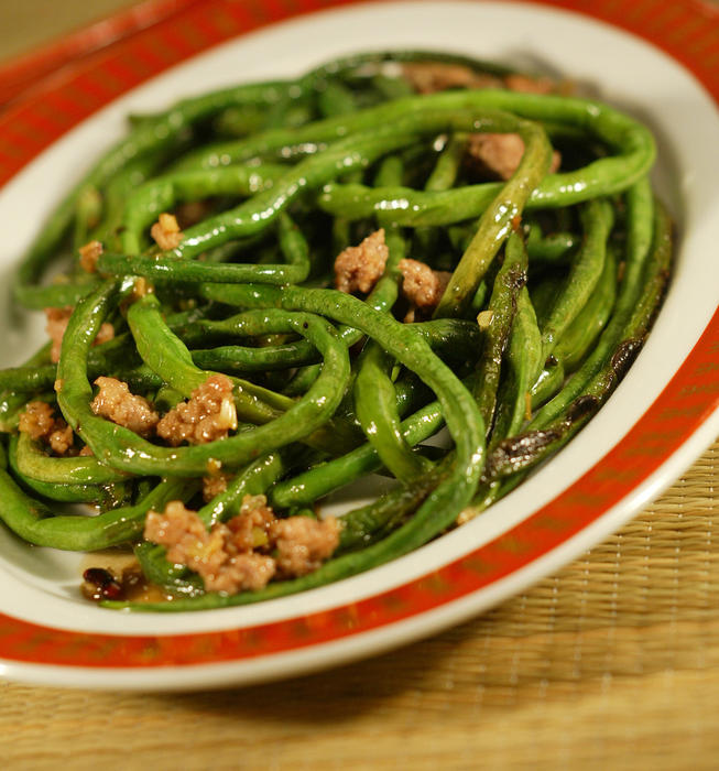 dry fried yard long dry fried green beans recipe dry fried green beans ...
