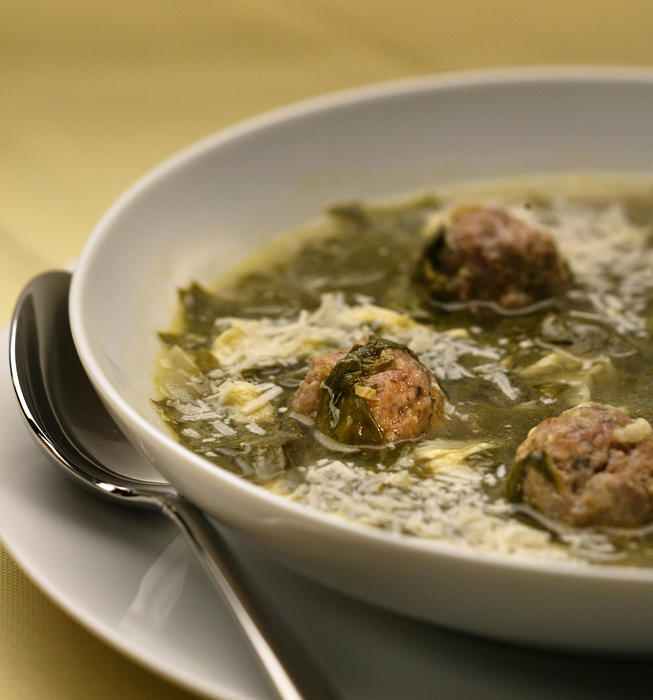 Dominick's Italian wedding soup