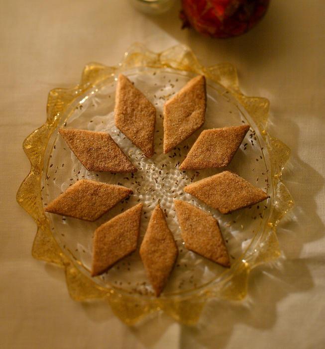 Bizcochos de anis (aniseed cookies)