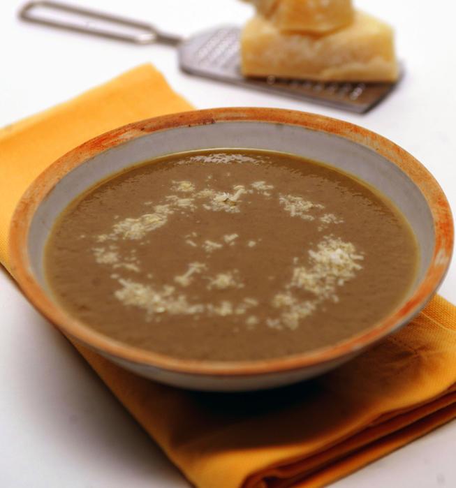 Delmonico's puree of portabello mushroom soup