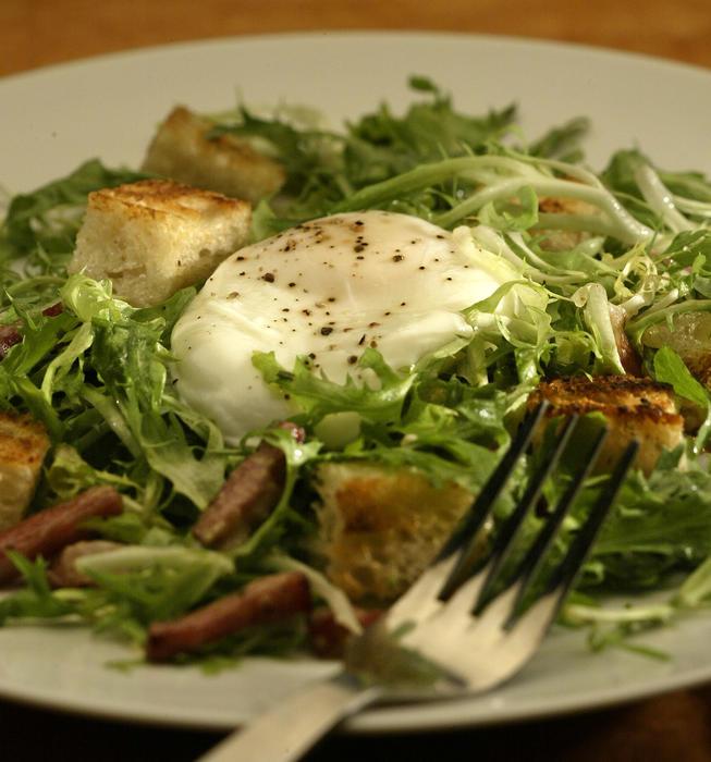 Classic frisee salad