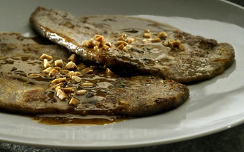 Veal with Marcona almonds