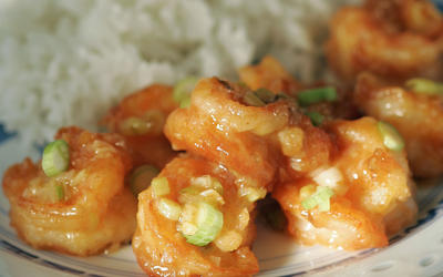 Yang Chow slippery shrimp