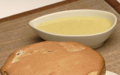 Fig Armagnac souffle