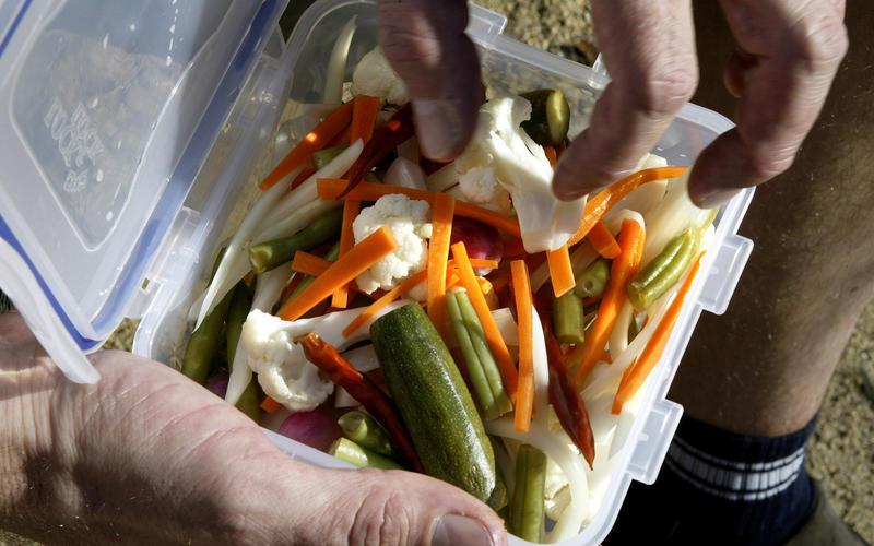 Pickled crudites