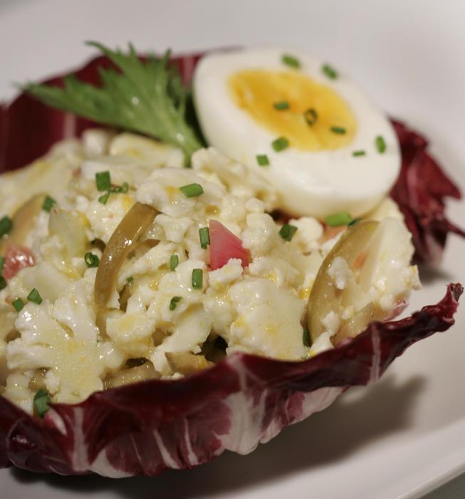 Literati II's cauliflower salad