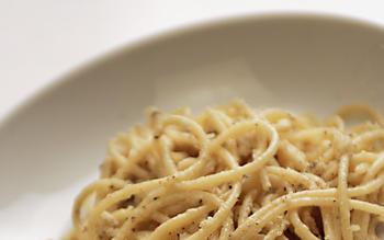 Peppery pasta