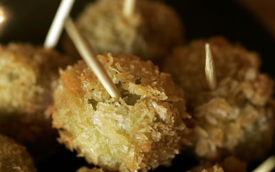 Stuffed fried olives