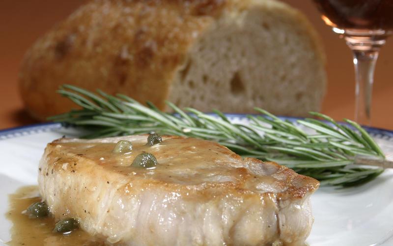 Cotelettes de porc au cidre