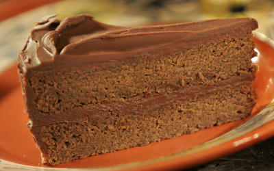 Mexican chocolate layer cake