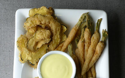 Literati II's vegetable fritto misto
