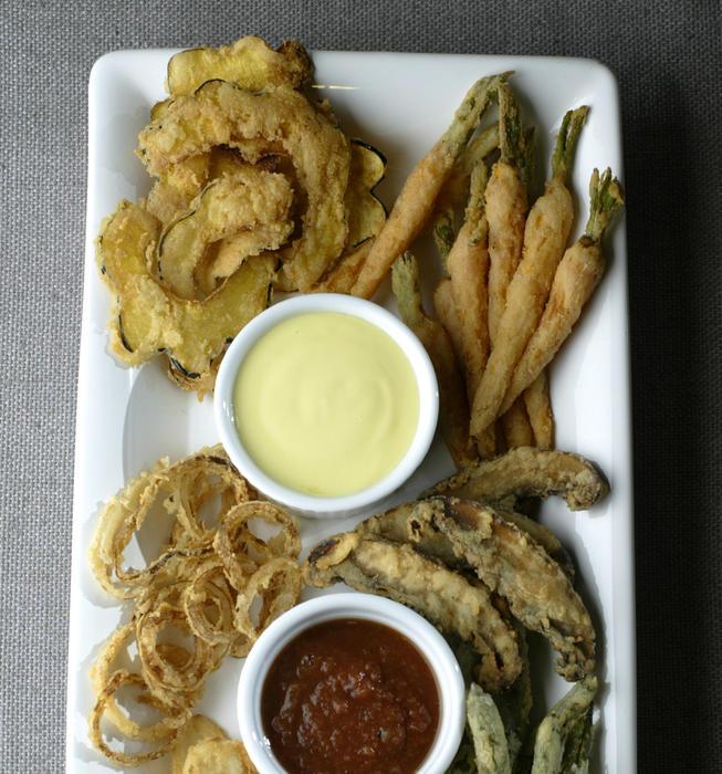 Literati II's vegetable fritto misto