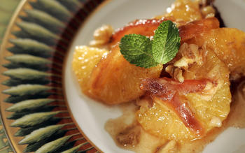 Joel Robuchon's orange-date salad