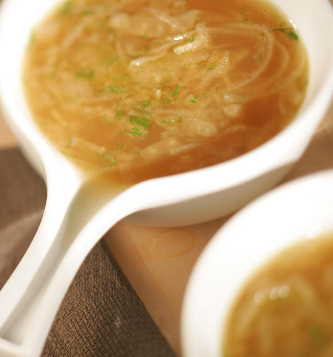 Fennel and onion soup