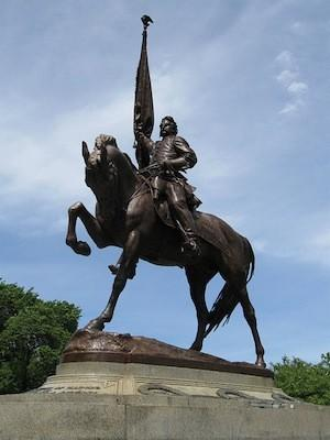 The Endless Summer Stroll karaoke contest will take place at the statue of Gen. John Logan in Chicago's Grant Park.