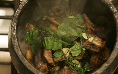 Costine di maiale (pork ribs)