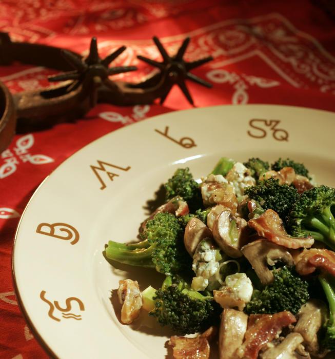 Broccoli chopped salad