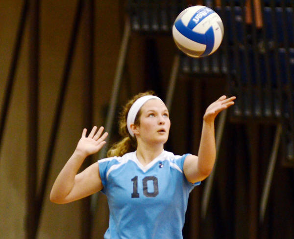 Petoskey junior setter Trista Boyd finished with 26 assists, 14 digs and two kills Monday in the Northmen's five-set loss at Traverse City Central. The Trojans defeated the Northmen, 17-25, 25-21, 25-21, 17-25, 15-3.
