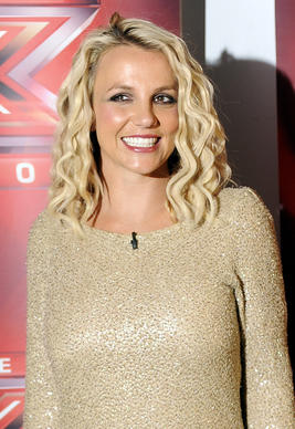 "Britney Spears attends Fox's ""The X Factor"" Season 2 Auditions at Oracle Arena in Oakland, California."