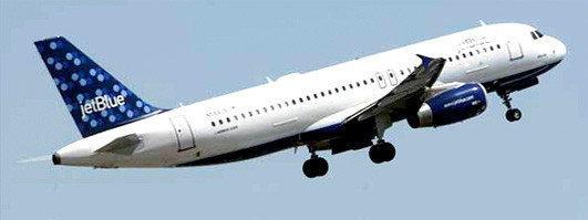 JetBlue Airways A320 aircraft