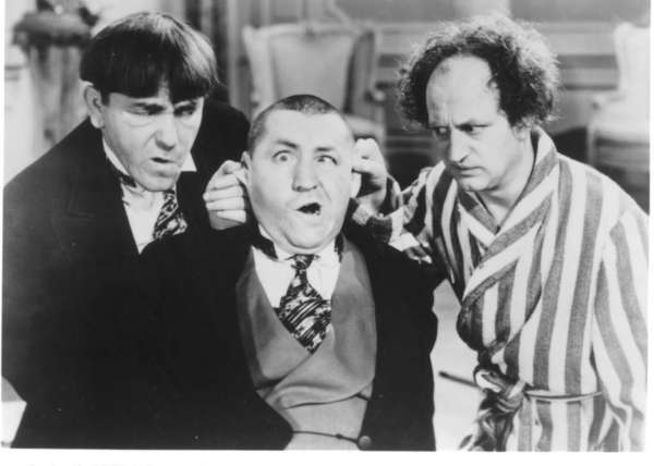 A 1937 short film about a crippled boy, starring the Three Stooges, presages the assistance that the Affordable Health Care Act is promising to Americans, including those with preexisting conditions.