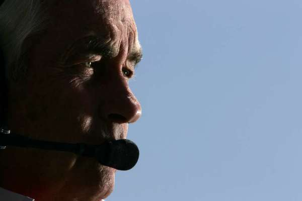 Roger Penske, above, has hired Juan Pablo Montoya to drive for his IndyCar team next year.