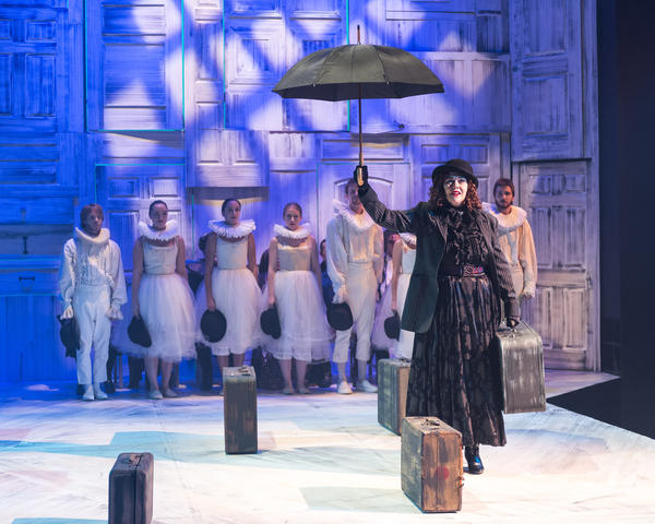 "Deborah Strang and an ensemble in ""Pericles, Prince of Tyre"" at A Noise Within."