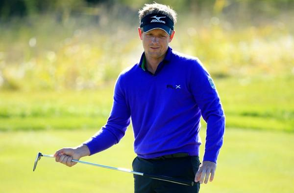 Luke Donald barely squeaked into the FedEx Cup playoffs.