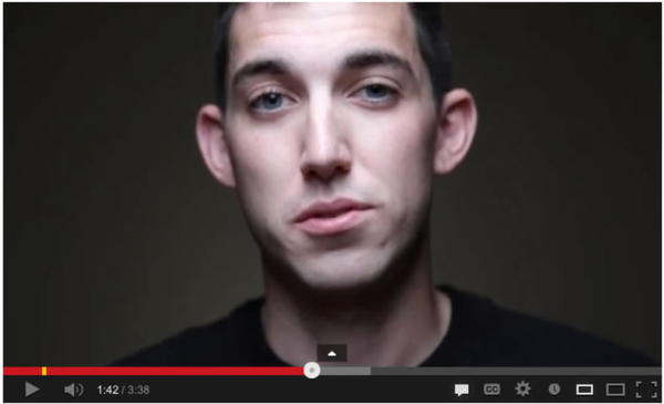 Matthew Cordle makes his confession in a video posted on YouTube.
