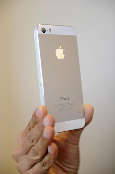 The iPhone 5s will go on sale Friday.