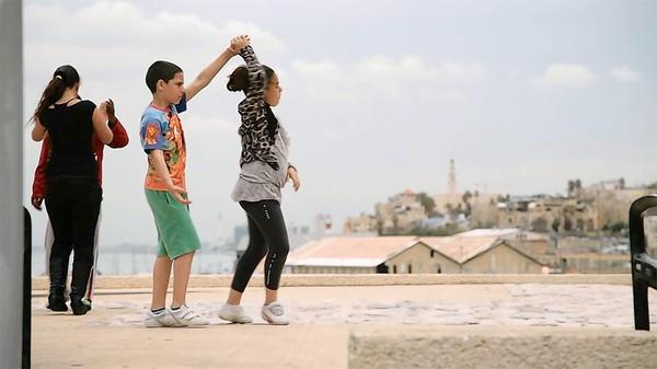 "Still from the movie ""Dancing in Jaffa"""