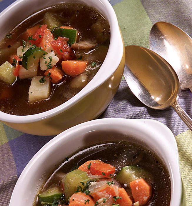 Odds and Ends Vegetable Soup