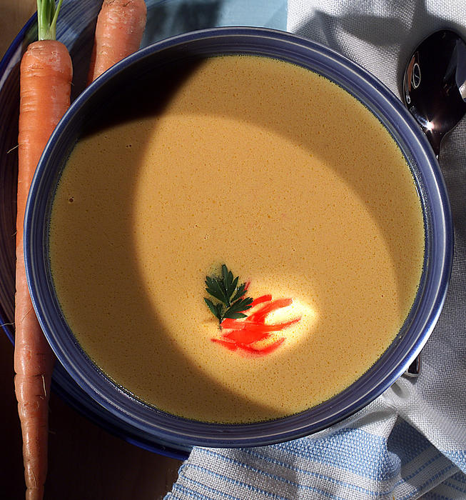 Cedars-Sinai Medical Center carrot-ginger soup