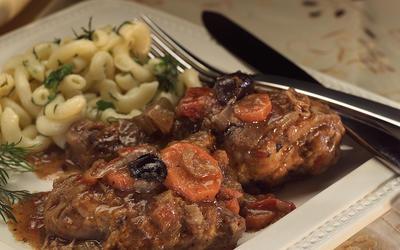 Greek Chicken Stew