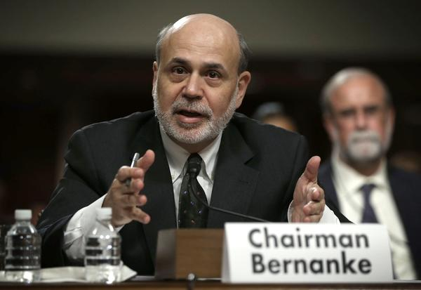 Federal Reserve Chairman Ben S. Bernanke, shown testifying on Capitol Hill in May, will hold his quarterly news conference Wednesday after a meeting of Fed policymakers. Likely topics include an expected tapering of the central bank's bond purchases.