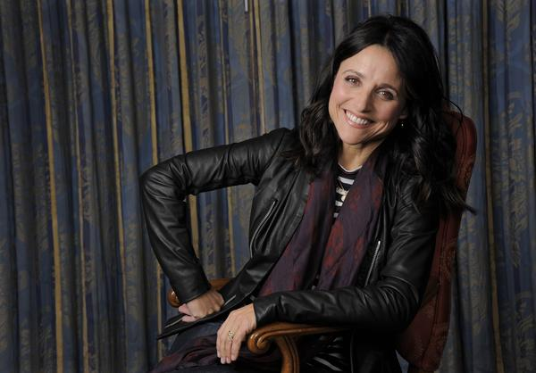 "Julia Louis-Dreyfus, a cast member in the film ""Enough Said,"" poses for a portrait on day 4 of the 2013 Toronto International Film Festival on Sunday, Sept. 8, 2013 in Toronto."