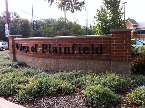 Among the goals of Plainfield's new five-year plan is to improve signage entering the village at Main Street and Illinois Route 59.