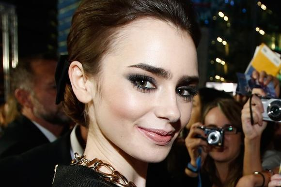 Lily Collins is named most dangerous cyber celebrity