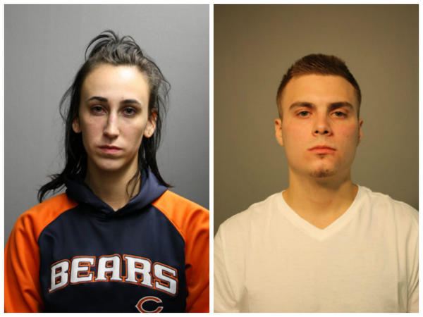 Brian Mosansky and Sarah Solma(Chicago Police Department)