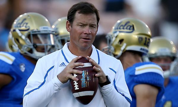 UCLA Coach Jim Mora doesn't plan to impose new rules on his players when it comes to social media habits.